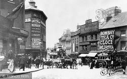 Sheffield, Snig Hill From Junction 1887