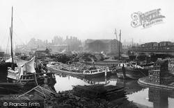Sheffield, The Canal Basin c.1870