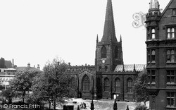 Sheffield, The Cathedral c.1955
