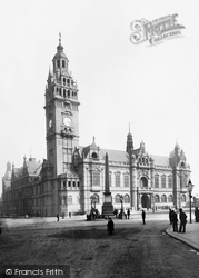 Sheffield, The Town Hall 1896