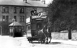 Sheffield, The Tram Terminus c.1890