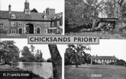 Chicksands Priory Composite c.1940, Shefford
