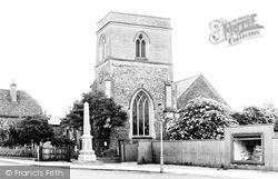 Church And War Memorial c.1950, Shefford