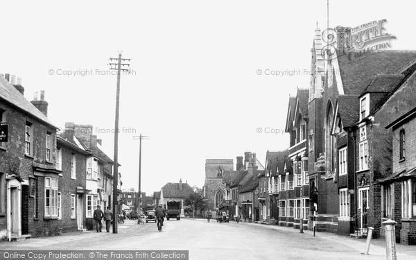 Photo of Shefford, High Street c.1950