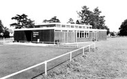 Shefford, the Memorial Hall c1960