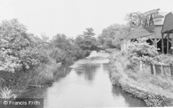Shefford, The River c.1950
