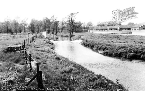 Shefford, the River c1960