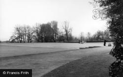 Bowling Green, Shelf Hall Park c.1960, Shelf