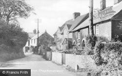 Shepherdswell, Mill Lane c.1955