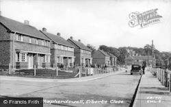 Shepherdswell, Siberts Close c.1950