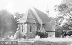 Shepherdswell, St Andrew's Church c.1955