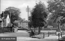 The School And Green c.1955, Shepherdswell