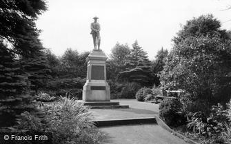 Shepley, the War Memorial c1960