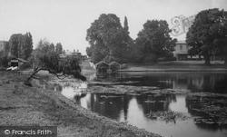 Shepperton, River Thames 1890