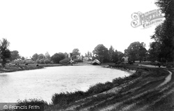 Shepperton, River Thames And Church 1899