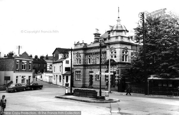 Shepshed, the Bullring c1965