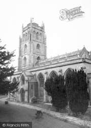Shepton Mallet, Church Of Ss Peter And Paul  c.1960