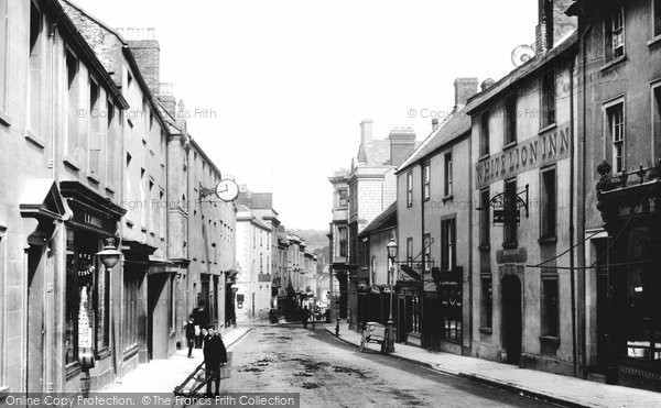 Shepton Mallet, High Street 1899