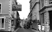Shepton Mallet, High Street c1955