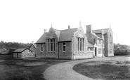 Shepton Mallet, the Grammar School 1899