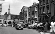 Shepton Mallet, the Square and Cross c1965