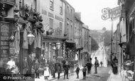Shepton Mallet, Town Street 1899