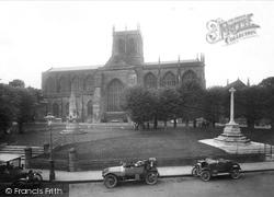 Sherborne, Abbey 1924
