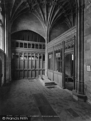 Sherborne, Abbey, Lady Chapel And Library 1927