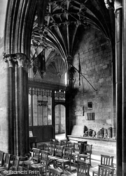 Sherborne, Abbey, Lady Chapel Looking South West 1927