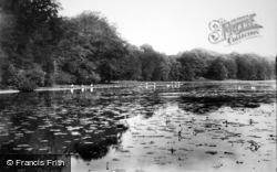 Sherborne, Castle Lake 1896