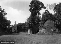 Sherborne, Castle Ruins 1924