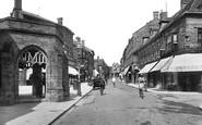 Sherborne, Cheap Street 1924