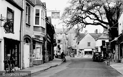 Cheap Street c.1955, Sherborne