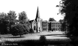 Sherborne, Church Of St Mary Magdalene And Sherborn House c.1960