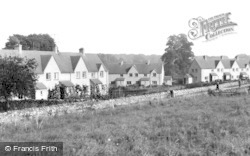 Sherborne, Council Houses c.1955