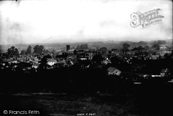 Sherborne, From The Slopes 1895