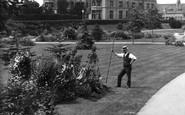 Sherborne, Gardener 1912