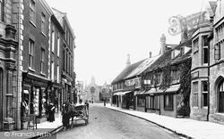 Half Moon Street 1904, Sherborne