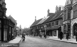 Half Moon Street c.1950, Sherborne