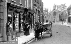 Horse And Cart 1904, Sherborne
