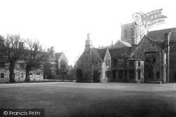 Kings School Quadrangle 1892, Sherborne