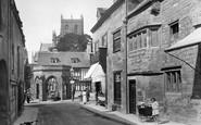 Sherborne, Long Street 1924