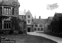 Old School, Head Master's House 1895, Sherborne