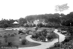 Sherborne, Pageant Gardens 1912