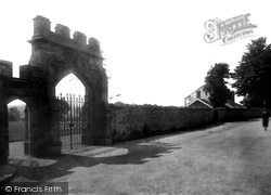 School Playing Fields And Old Gateway 1924, Sherborne