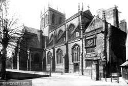 Sherborne, The Abbey 1892