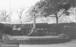Sherborne, The Memorial c.1960