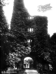 Sherborne, The Old Castle Gate c.1881