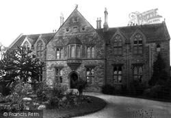 Yeatman Hospital 1895, Sherborne