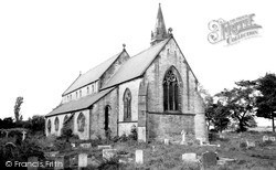Church Of St Mary The Virgin c.1955, Sherburn